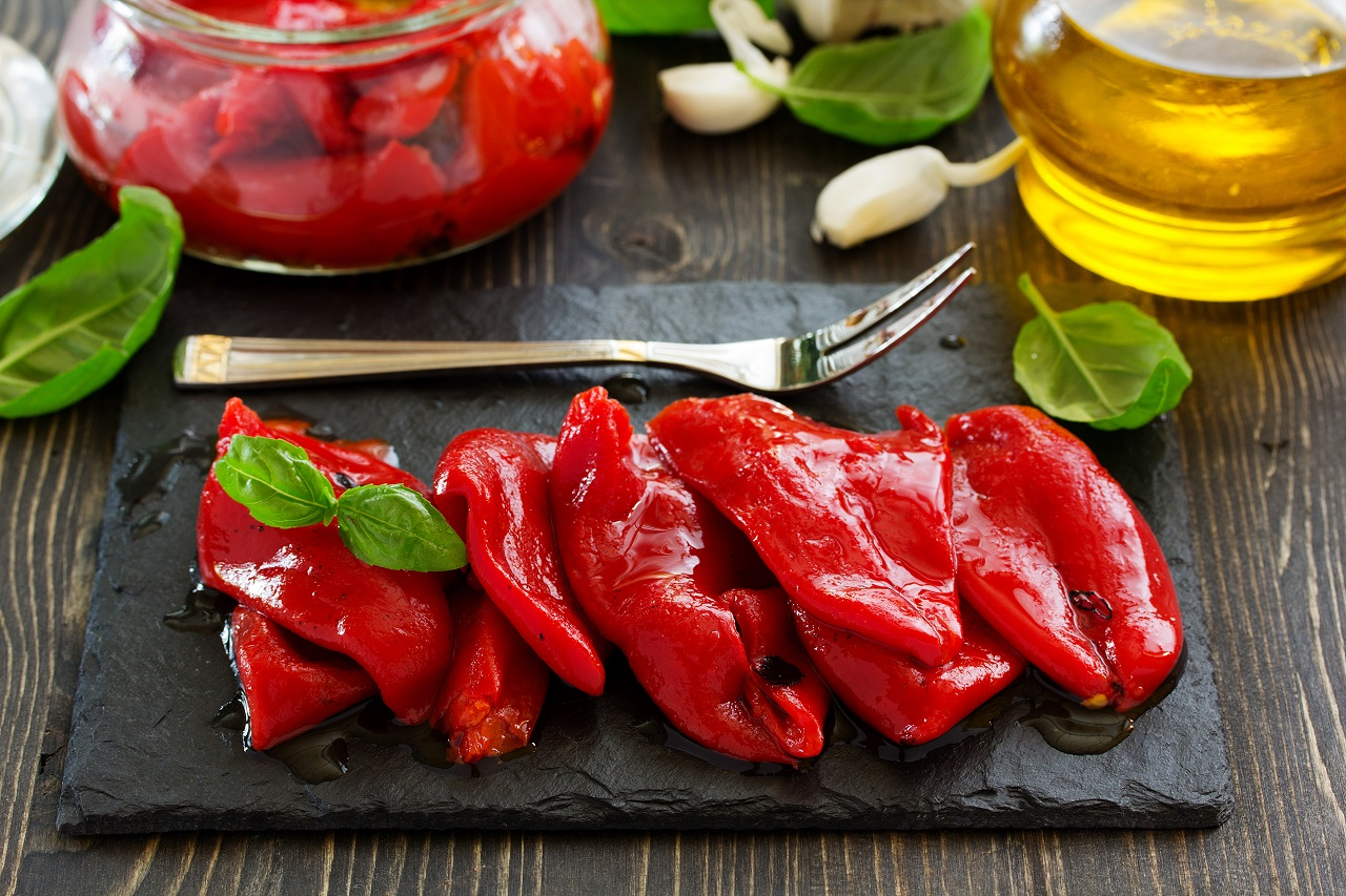 Red-pepper-baked-on-grill