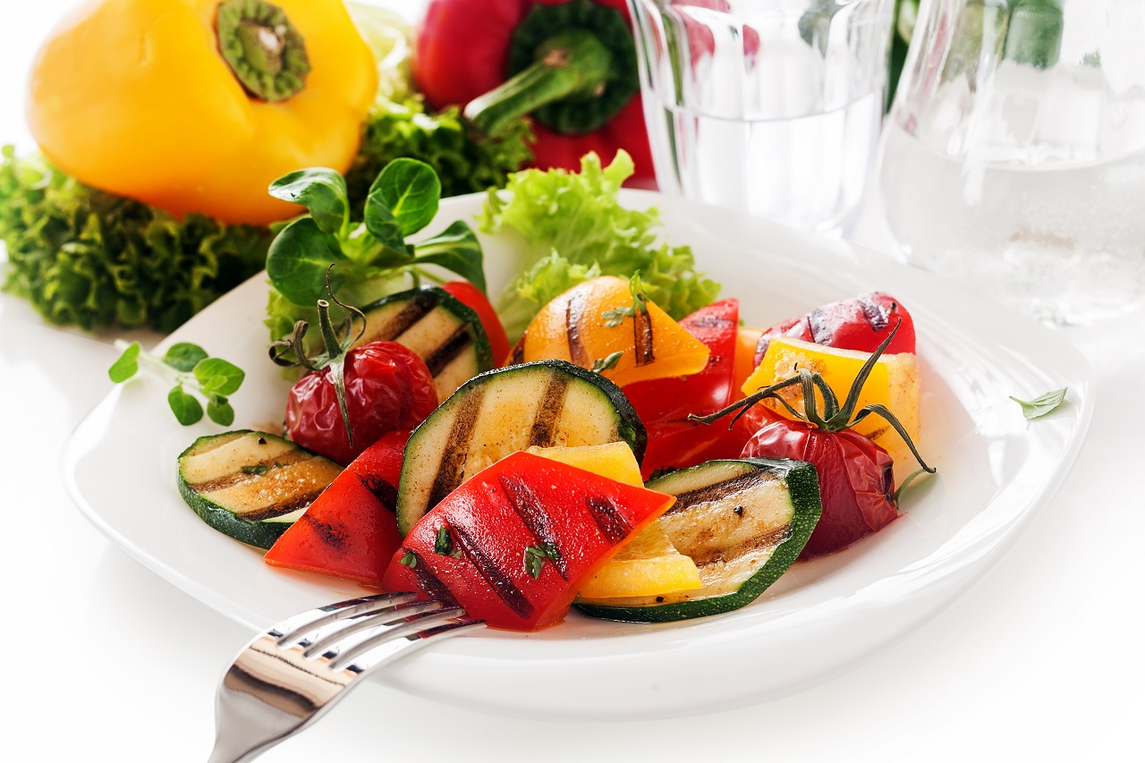 Veggy-Succulent-grilled-vegetables-with-assorted-sweet-peppers